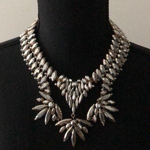 BCBGMaxazria Roxie collection statement necklace